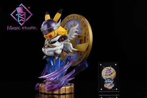 Magic Studio Pikachu + Saint Seiya (Pokemon) Statue