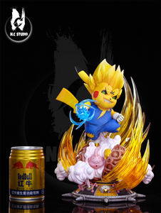 N.C Studio Pikachu Vegeta (Pokemon / Dragon Ball) Statue