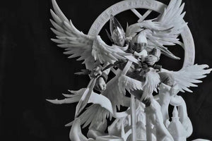 Dimensional Power Holy Angemon (Digimon) Statue