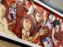3D Shohuku vs Ryonan Art Display (Slamdunk)