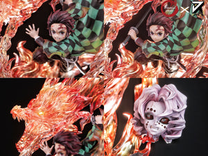 Fantasy x JianKe Studio Tanjiro Kamado With Lighting Base (Demon Slayer) (2 Versions)