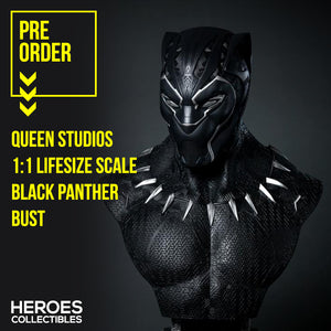 Queen Studios Black Panther 1:1 Scale Lifesize Bust