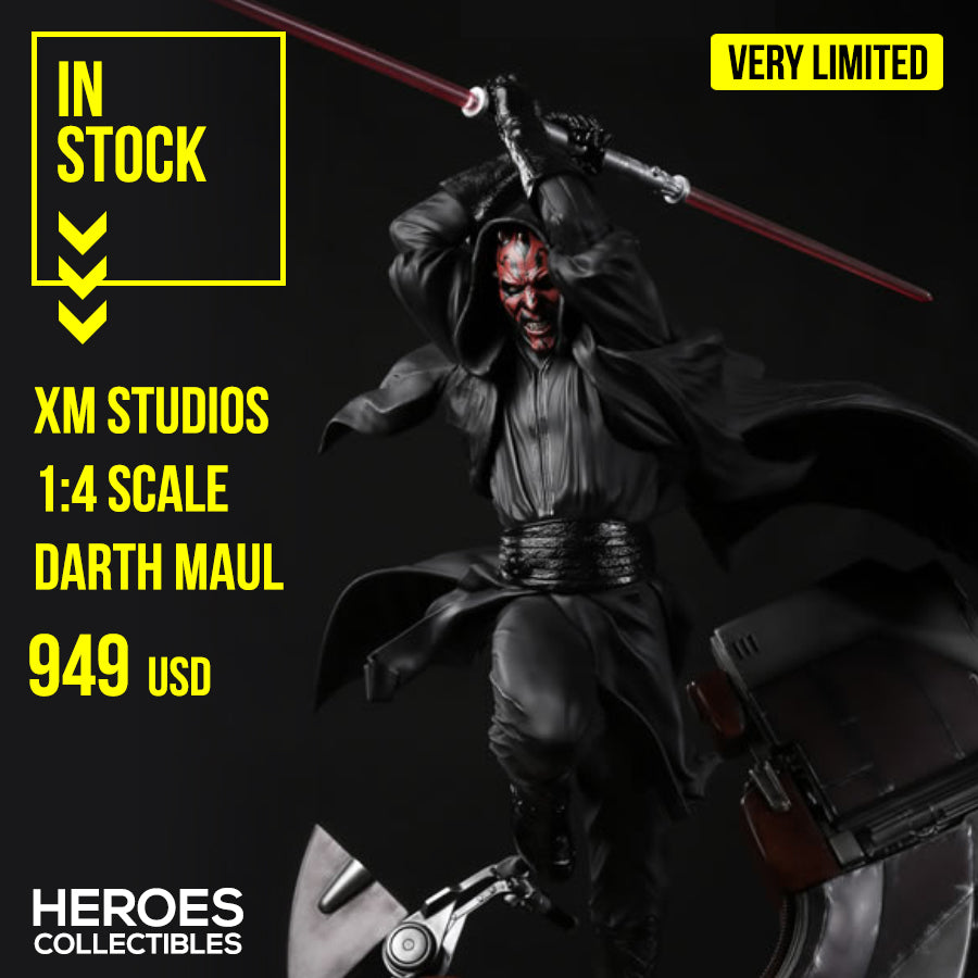 XM Studios 1:4 Scale Darth Maul