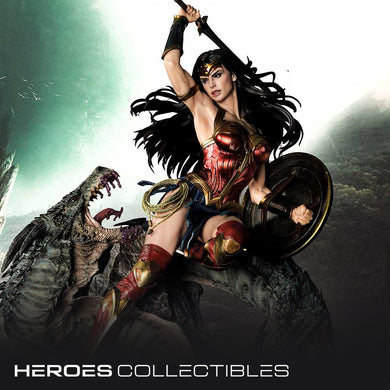 Prime 1 Studio Wonder Woman versus Hydra (Regular Edition) 1:3 Scale Statue