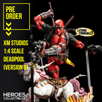 XM Studios 1:4 Scale Deadpool (Version B)