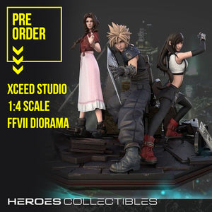 XCEED Studio Final Fantasy VII Diorama 1:4 Statue