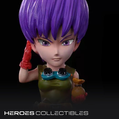Red Ribbon Colonel Violet (Dragonball) Statue