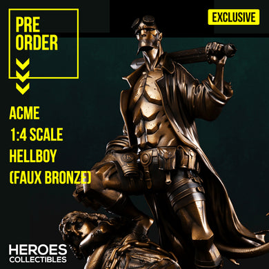 ACME 1:4 Scale Hellboy (Exclusive - Faux Bronze)