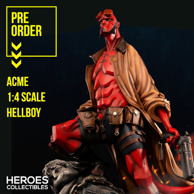 ACME 1:4 Scale Hellboy