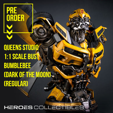 Queen Studios Bumblebee (Transformers - Dark of the Moon) (Regular Edition) 1:1 Scale Bust