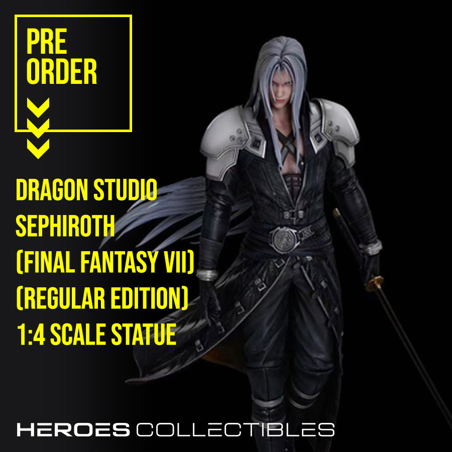 Dragon Studio Sephiroth (Final Fantasy VII / FF7) (Regular Edition) 1:4 Scale Statue