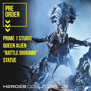 "Prime 1 Studio Queen Alien ""Battle Diorama"" Statue"