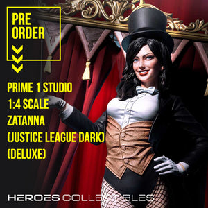 Zatanna Justice League Dark Deluxe Edition