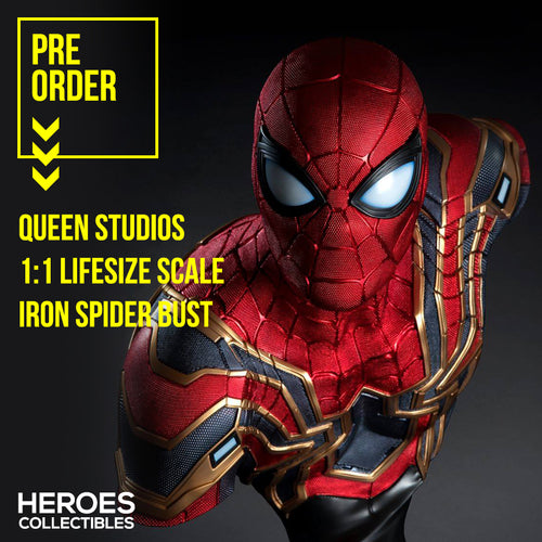 1:1 Scale Spiderman Lifesize Bust