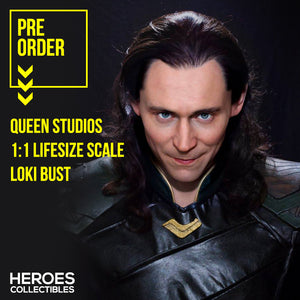 Queen Studios 1:1 Scale Loki Lifesize Bust