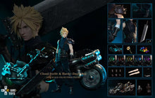 GAMETOYS Cloud Strife with Daytona (Final Fantasy VII / FF7) 1:6 Scale Statue