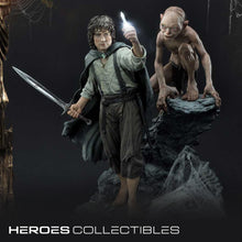 Frodo and Gollum (Lord of the Rings: The Return of the King) (Bonus Version) 1/4 Scale Statue