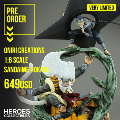 Oniri Creations Sandaime Hokage – The Last Fight 1:6 Scale Statue