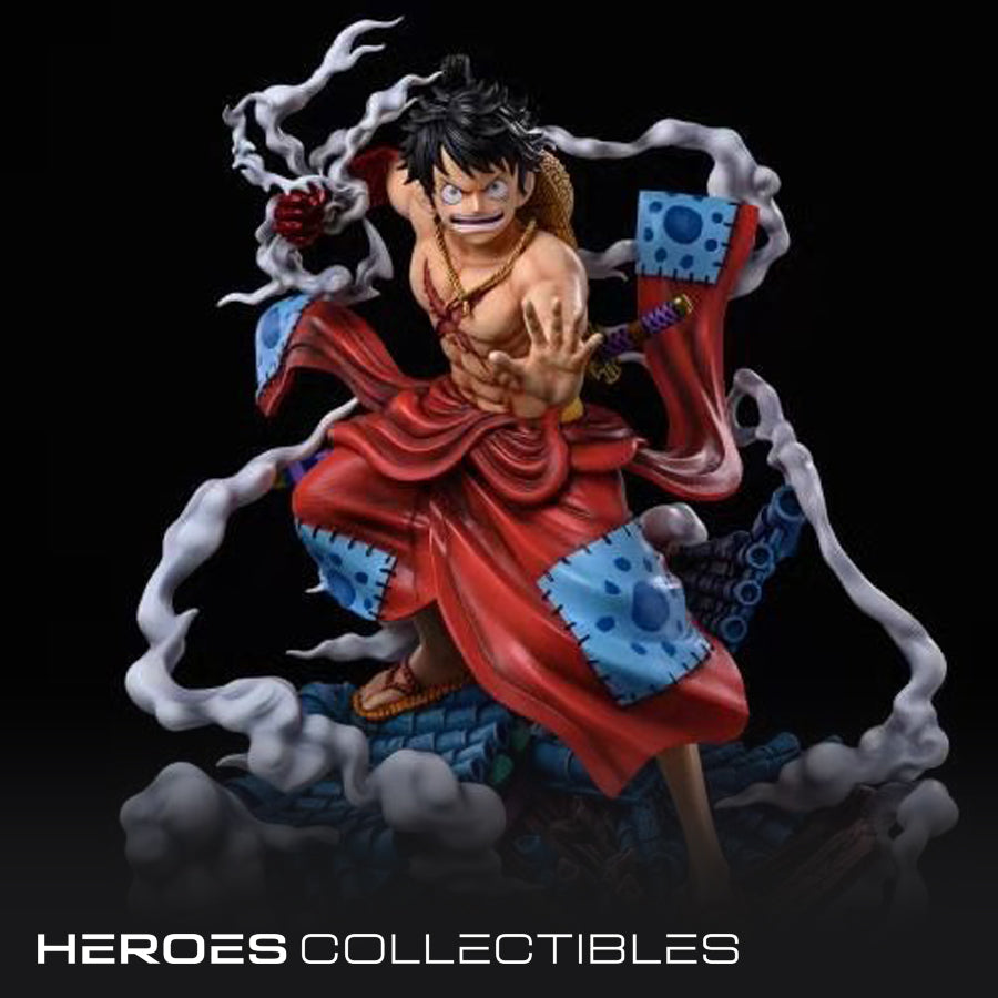 Never wither Studio Monkey D. Luffy (One Piece) Statue (2 versions)