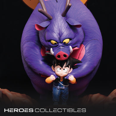 DB studio Son Goku and InoShikaCho (Dragonball) Statue (2 Versions)