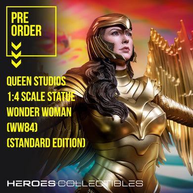 Queen Studios Wonder Woman WW84 (Standard Edition) 1:4 Scale Statue