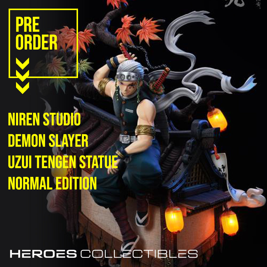 Niren Studio Demon Slayer Uzui Tengen Statue