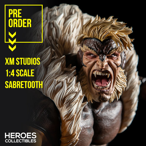 1:4 Scale Sabretooth