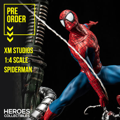 XM Studios 1:4 Scale Spider-man