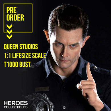 Queen Studios 1:1 Scale T1000 Lifesize Bust