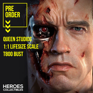 Queen Studios 1:1 Scale T800 Lifesize Bust