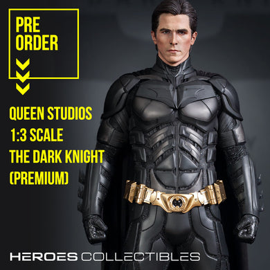 Queen Studios Batman / The Dark Knight (Premium Edition - Sculpted Hair) 1:3 Scale Statue