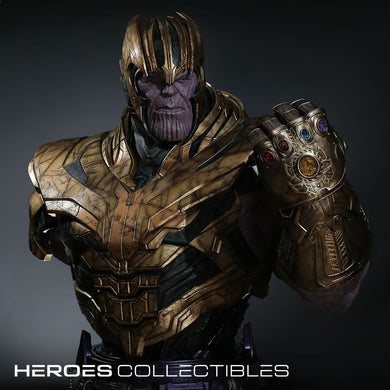 Queen Studios Thanos (Avengers Endgame) 1:1 Scale Lifesize Bust