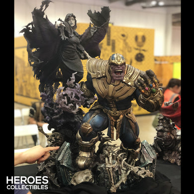 XM Studios 1:4 Scale Thanos and Lady Death