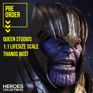 Queen Studios 1:1 Scale Thanos Lifesize Bust
