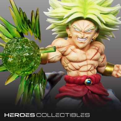 Demon Studio Broly (Dragonball) Statue (2 Versions)