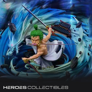 Freezing Point X DJ Studio Roronoa Zoro (One Piece) Statue