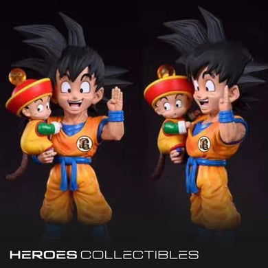 League Studio Son Goku & Son Gohan (Dragonball) Statue