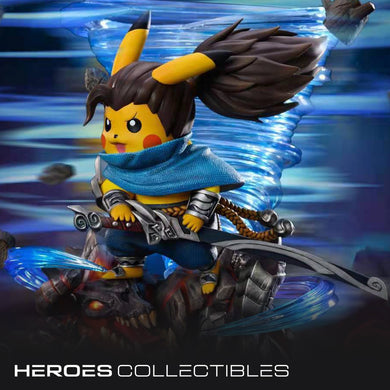 Sugar Studio Pikachu cosplay swordsmen (Pokemon) Statue