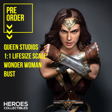 Queen Studios 1:1 Scale Wonder Woman Lifesize Bust
