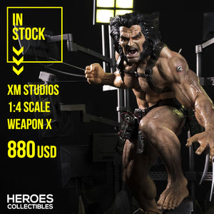 XM Studios 1:4 Scale Weapon X
