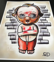 Silence of the Lambs Kewpie Tattoo Flash Art Print(s)