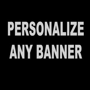 Personalize Any Banner (Add On)