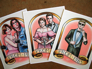 Breakfast Club Tattoo Flash Art Print