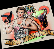 Big Trouble Little China Tattoo Flash Art Print