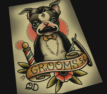 Boston Terrier Barber