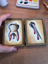 Tooth and Nail Original Watercolor Painting