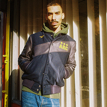 A.R.C./Golden Bear Varsity Jacket