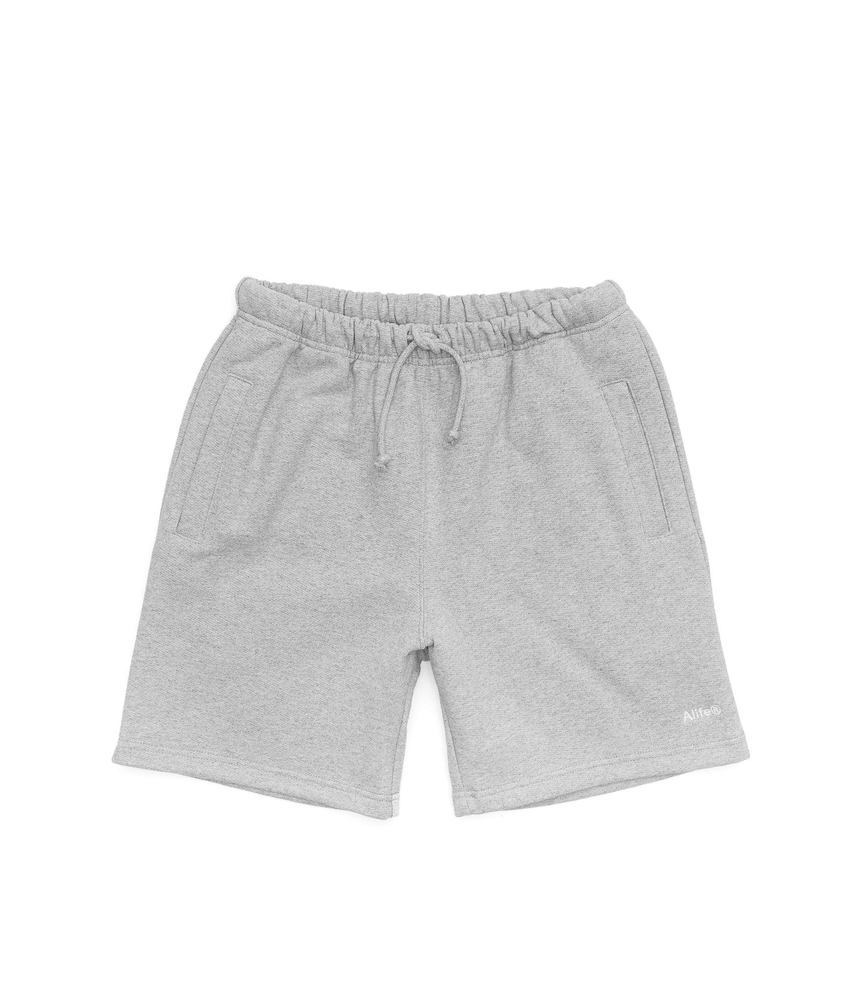 Alife Basics Fleece Short - Heather Grey