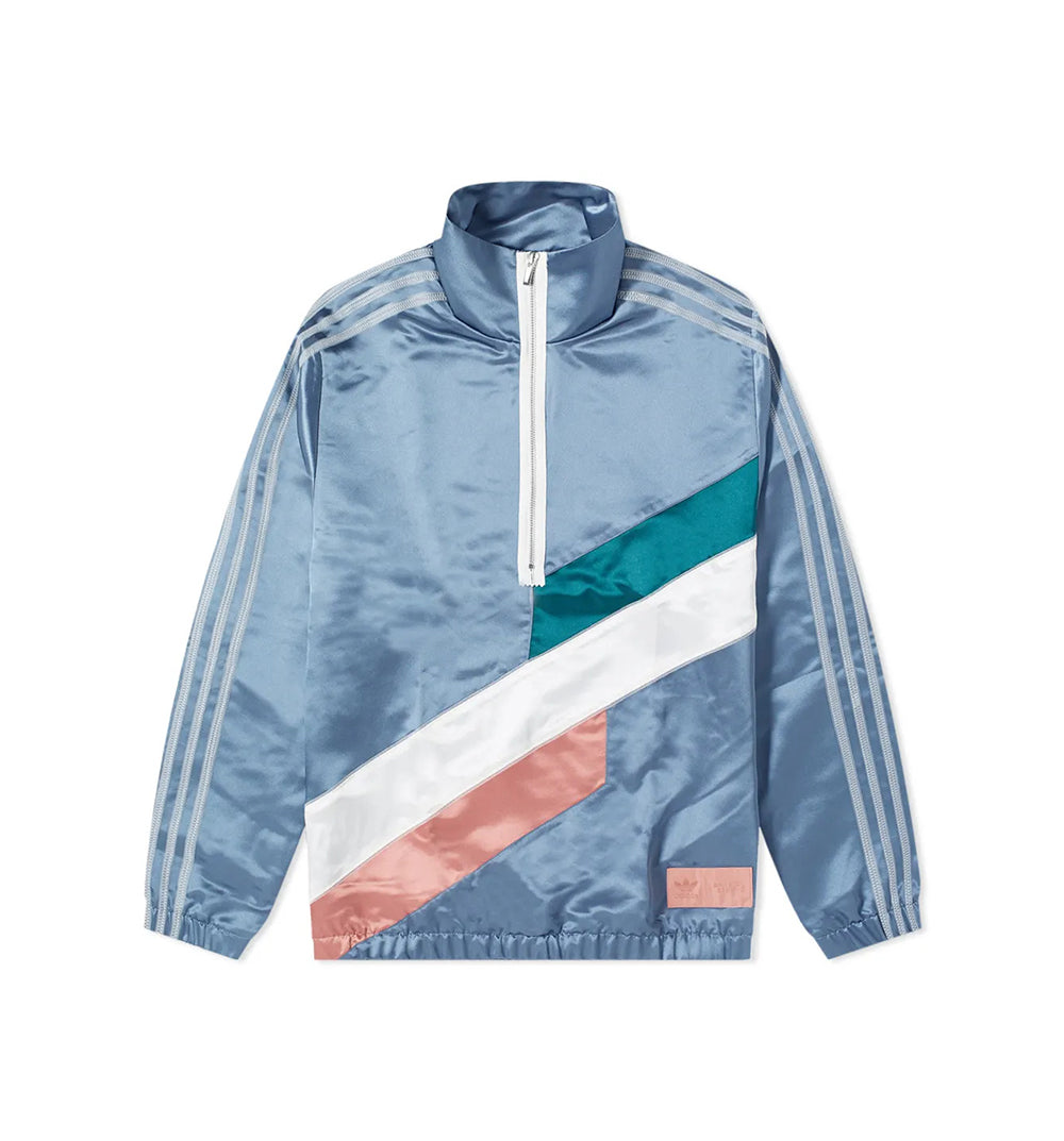 adidas x Bristol Studio Crew Sweat - Blue/Green