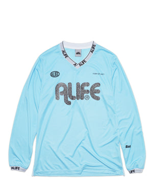 Alife Knitted Long Sleeve Soccer Jersey